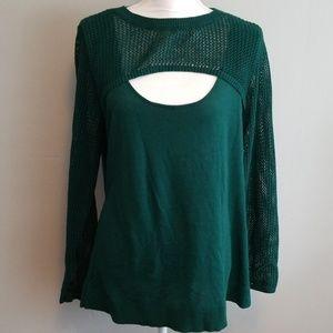 Torrid Hunter Green Sweater